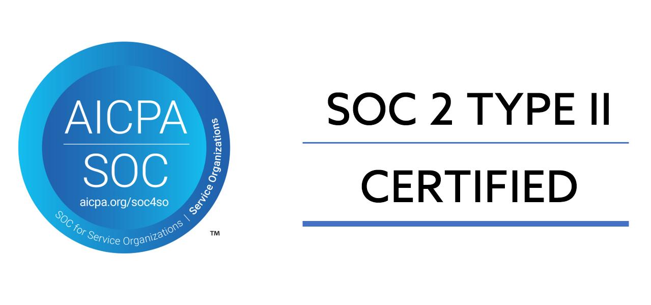 Soc 2 Type II Certified