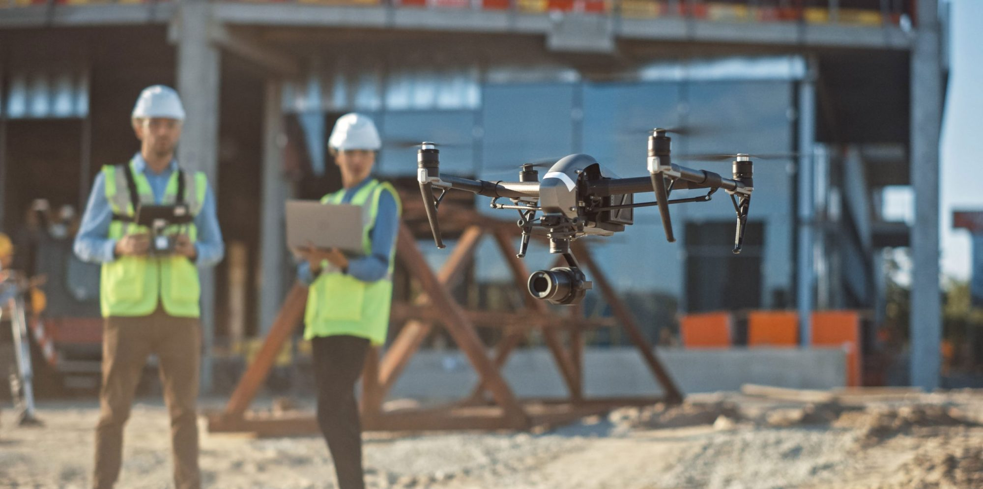 Using Drones in Construction