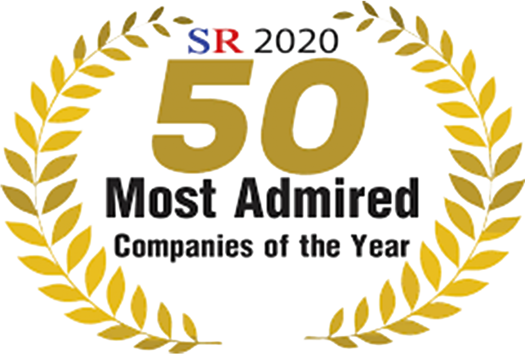 Logo for 50 Most Admired Companies of the Year 2020
