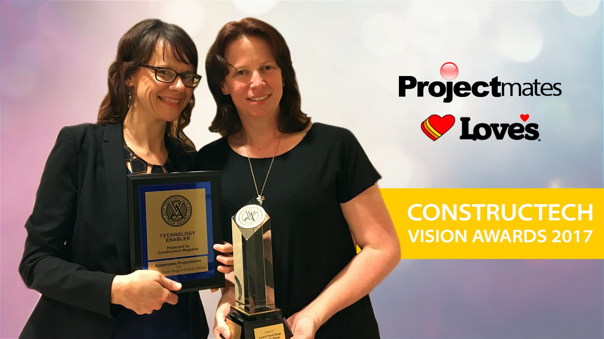 Projectmates Vision Award