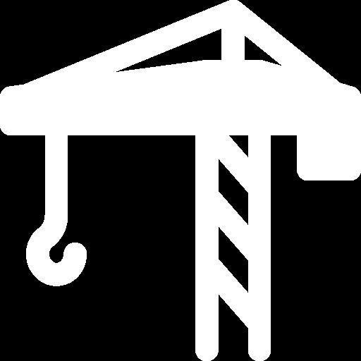 White crane icon