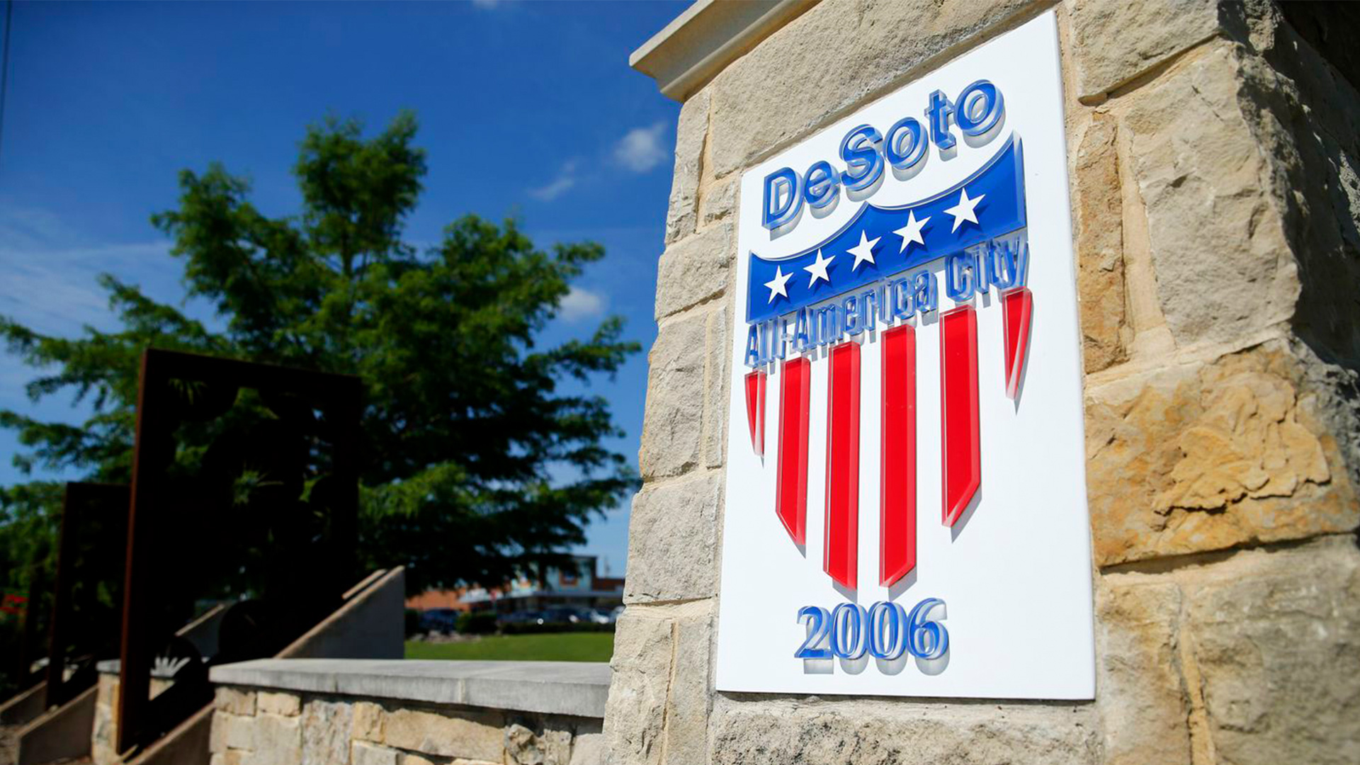 Sign for the City of Desoto