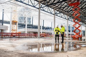 Architect and engineer using software to minimize labor shortages